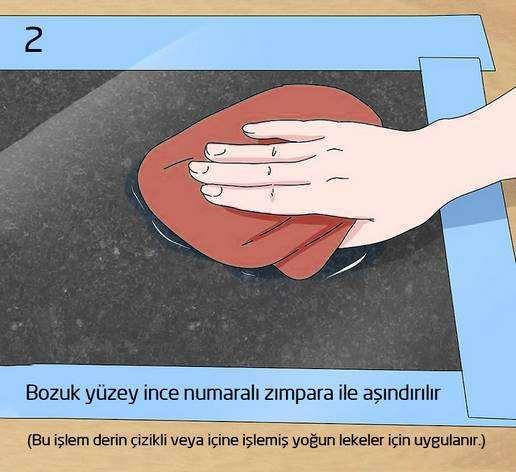 mermer cilalama nasıl yapılır